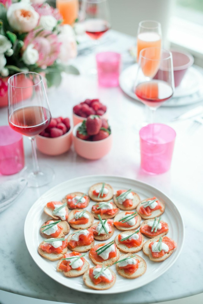 Smoked salmon bites by Sip Savour Share